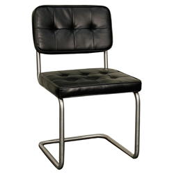 Baker Modern Black Side Chair