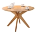 Balboa Modern Round Dining Table in Oak