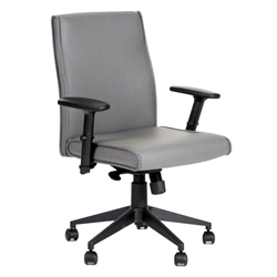 Baldwin Modern Gray Office Chair