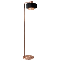 Banfield Modern Copper Floor Lamp