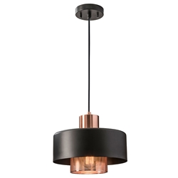 Banfield Modern Copper Hanging Lamp