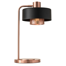 Banfield Modern Copper Table Lamp