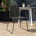 Barclay Modern Dark Gray Cord Dining Chair by Modloft