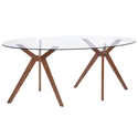 Barclay Modern Oval Dining Table