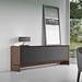Modloft Black Barnes Modern Walnut Sideboard - Lifestyle