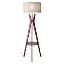 Baxter Shelf Modern Floor Lamp