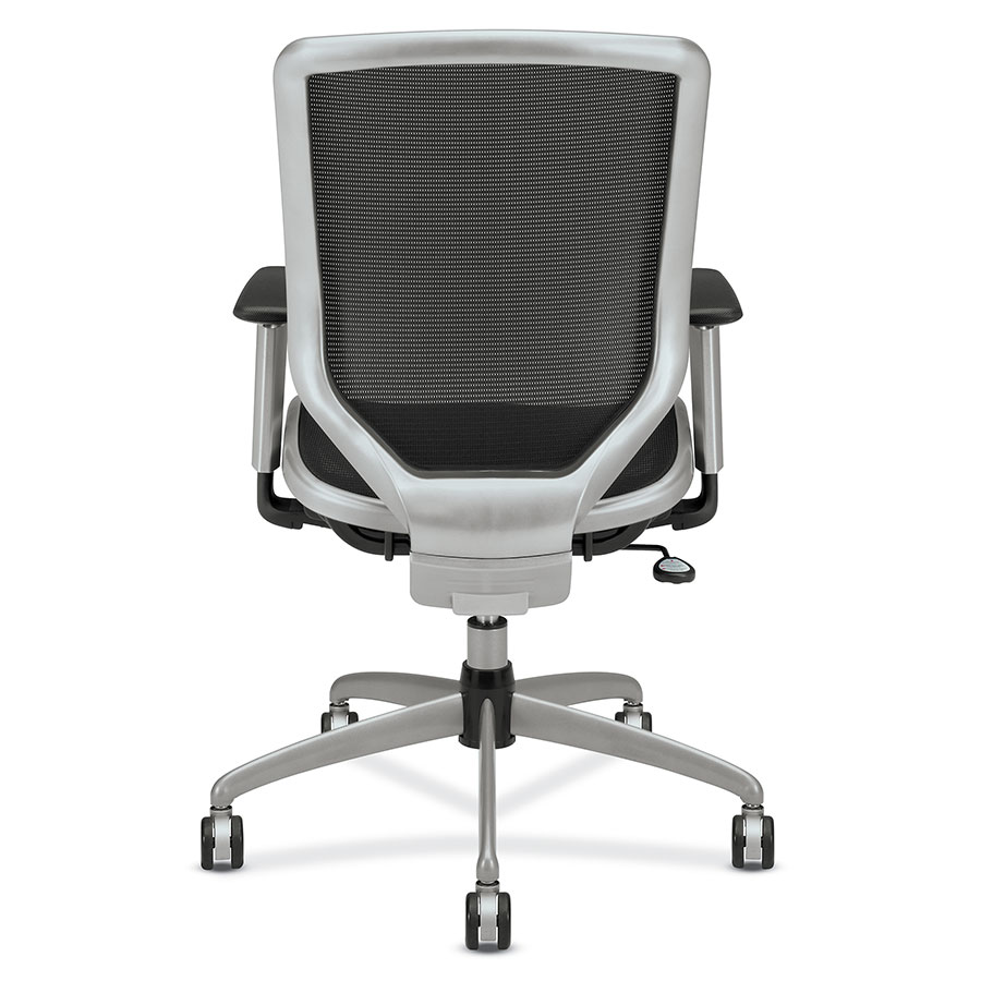 Office chair back view -  Becker Modern Office Chair Back View