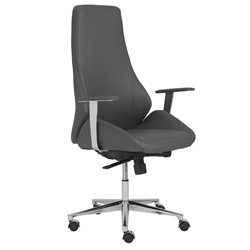 Bergen Modern Gray High Back Office Chair