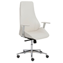 Bergen Modern White High Back Office Chair