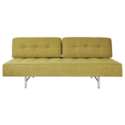 Gus* Modern Bedford Lounge in Bayview Dandelion Fabric Upholstery