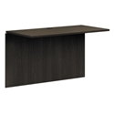 Bellevue Modern Espresso Bridge Desk