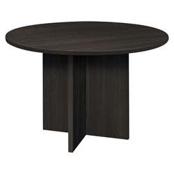 Bellevue Modern Espresso 48 Inch Round Meeting Table