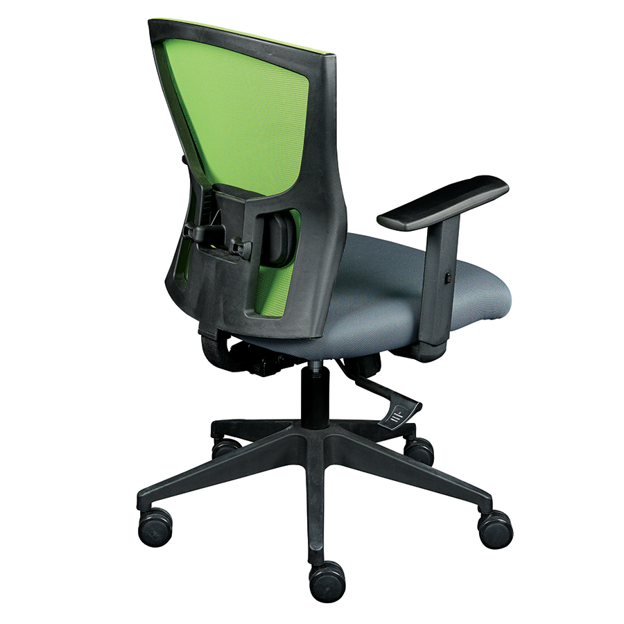 modern office chairs burgess green visitor chair eurway