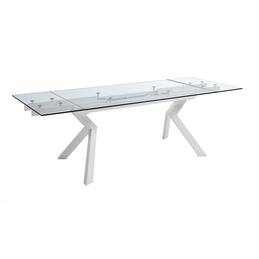 Benedict Contemporary Dining Table Extended