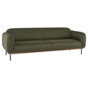 Benson Modern Sofa in Hunter Green Tweed by Nuevo