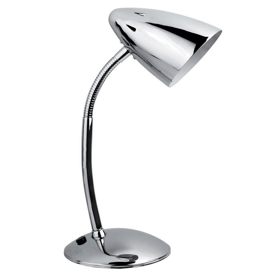 Benton Chrome Modern Desk Lamp