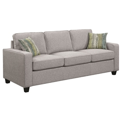 Berkeley Contemporary Grey Sofa
