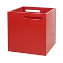 Berlin Red Contemporary Box by TemaHome