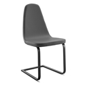 Berna Anthracite + Gray Modern Dining Chair