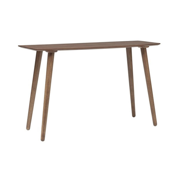 Bernard American Walnut Modern Console Table