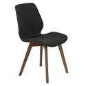 Bernard Modern Dark Gray Dining Chair