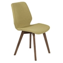 Bernard Modern Green Dining Chair