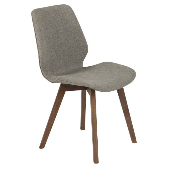 Bernard Modern Light Gray Dining Chair