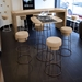 Beth Rust Modern Bar Stool Room