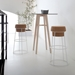 Beth White + Cork Modern Bar Stool