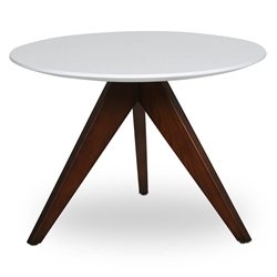 Bethany Modern Walnut Ash Wood End Table