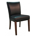 bev dining chair in black