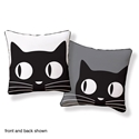 Big Eyes Cat Pillow