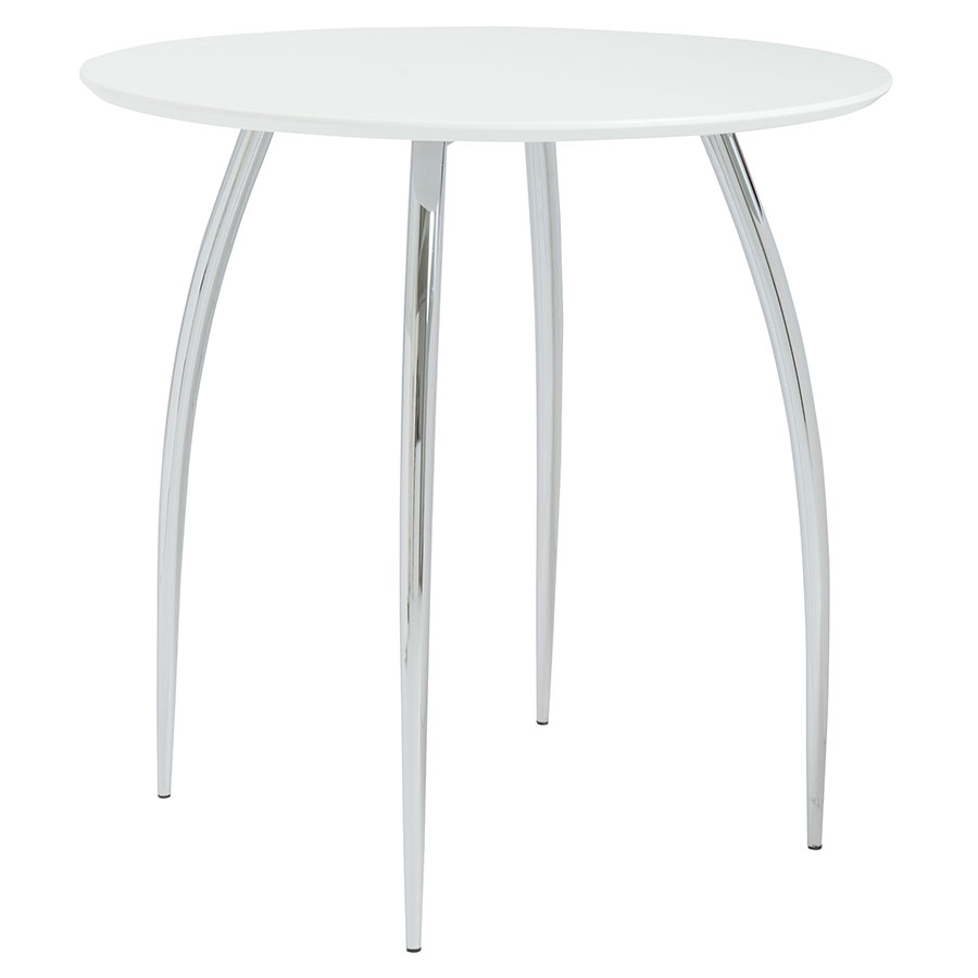 modern dining tables  biloxi dining table  eurway - biloxi modern bistro table in white