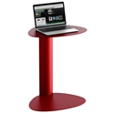 Bink Mobile Media Table by BDI in Cayenne