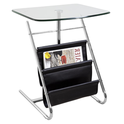 Bob Black Modern Side Table