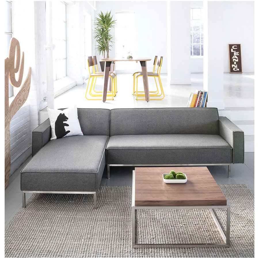 ... Bolton Multi Sectional Contemporary Sofa In Varsity Charcoal    Lifestyle ...