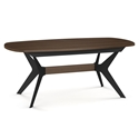 Boomerang Modern Extension Dining Table by Amisco
