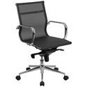 Boston Modern Mesh Low Back Office Chair