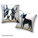Boston Terrier Pillow