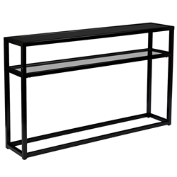 Brandon Modern Black Console Table