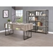 Bravo Double Display Shelf - Gray Driftwood