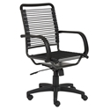 Bravo High Back Black Bungie Office Chair