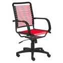 Bravo High Back Red Bungie Office Chair