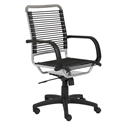 Bravo High Back Silver Bungie Office Chair