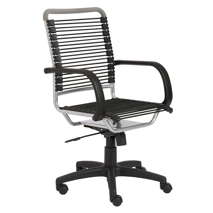 Call To Order Bravo High Back Silver Bungie Office Chair