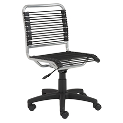 Bungie Low Back Bungie Office Chair in Silver