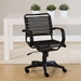 Bravo Mid Back Modern Flat Bungie Office Chair