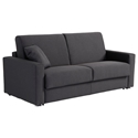 Breeze Full Size Modern Sleeper Sofa in Dark Grey by Pezzan