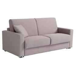 Breeze Modern Sleeper Sofa in Light Grey by Pezzan