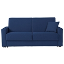 Breeze Modern Sleeper Sofa in Blue by Pezzan